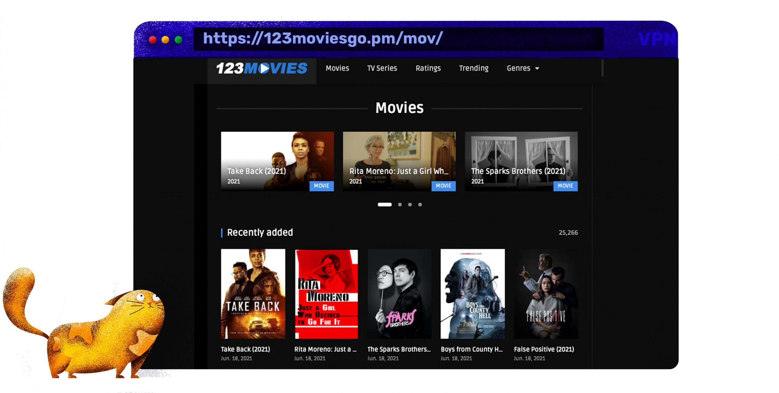 Film e serie TV in streaming gratis su 123Movies