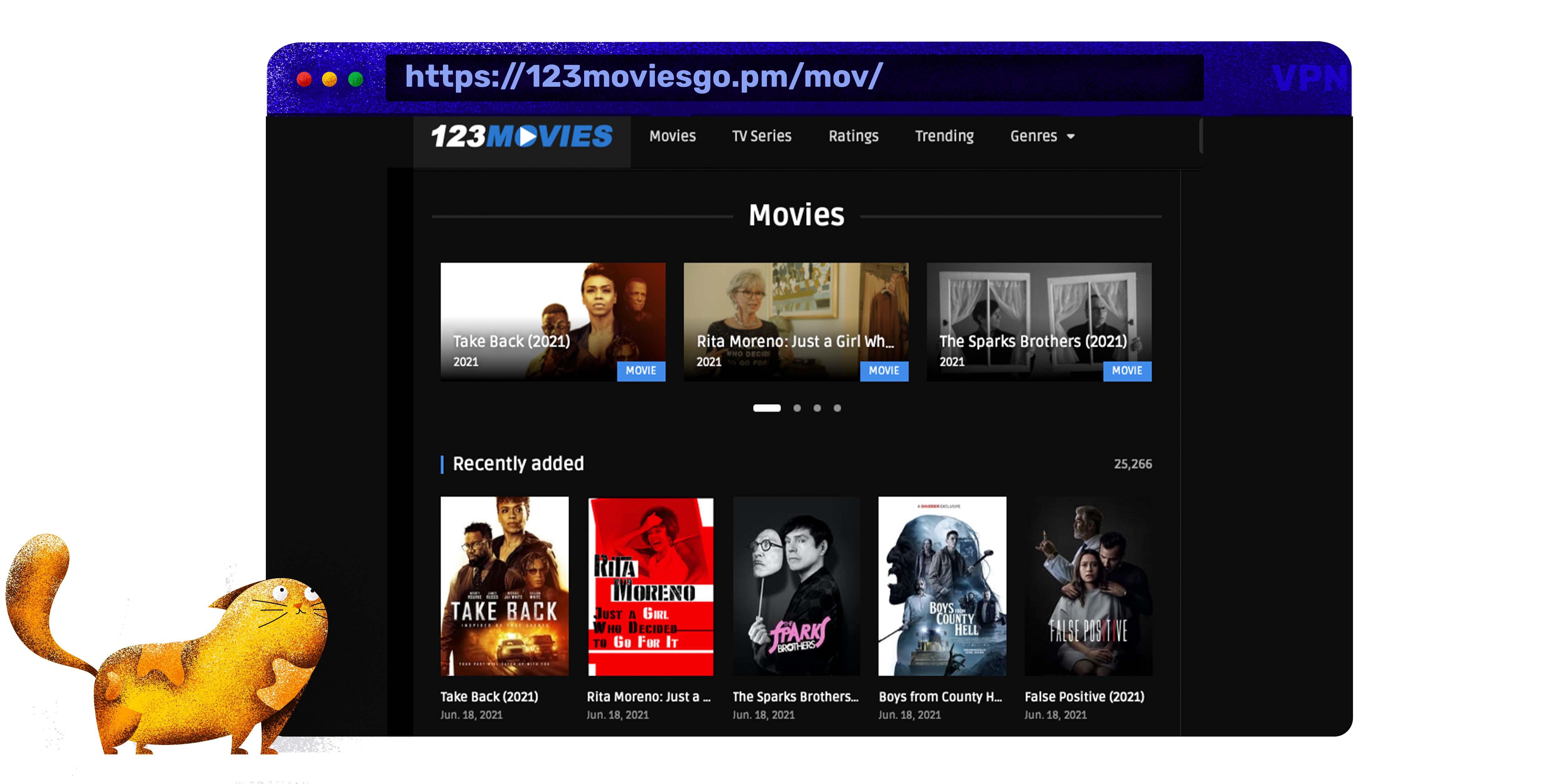 Használja 123movies mint egy putlocker alternatívát stream filmek és TV sorozatok