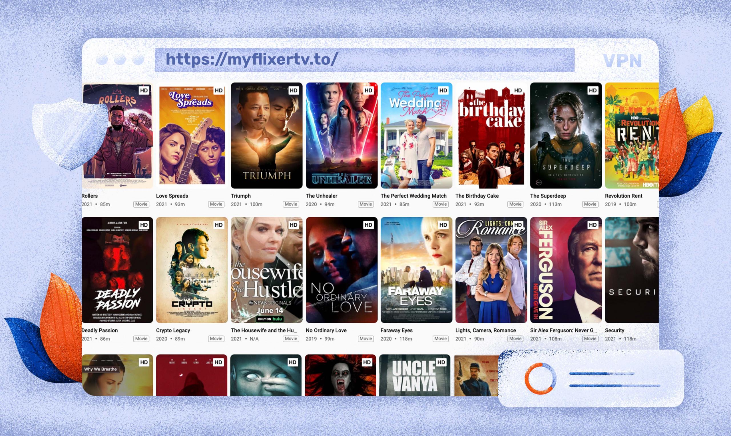 Streaming di film e serie TV su MyFlixer gratis