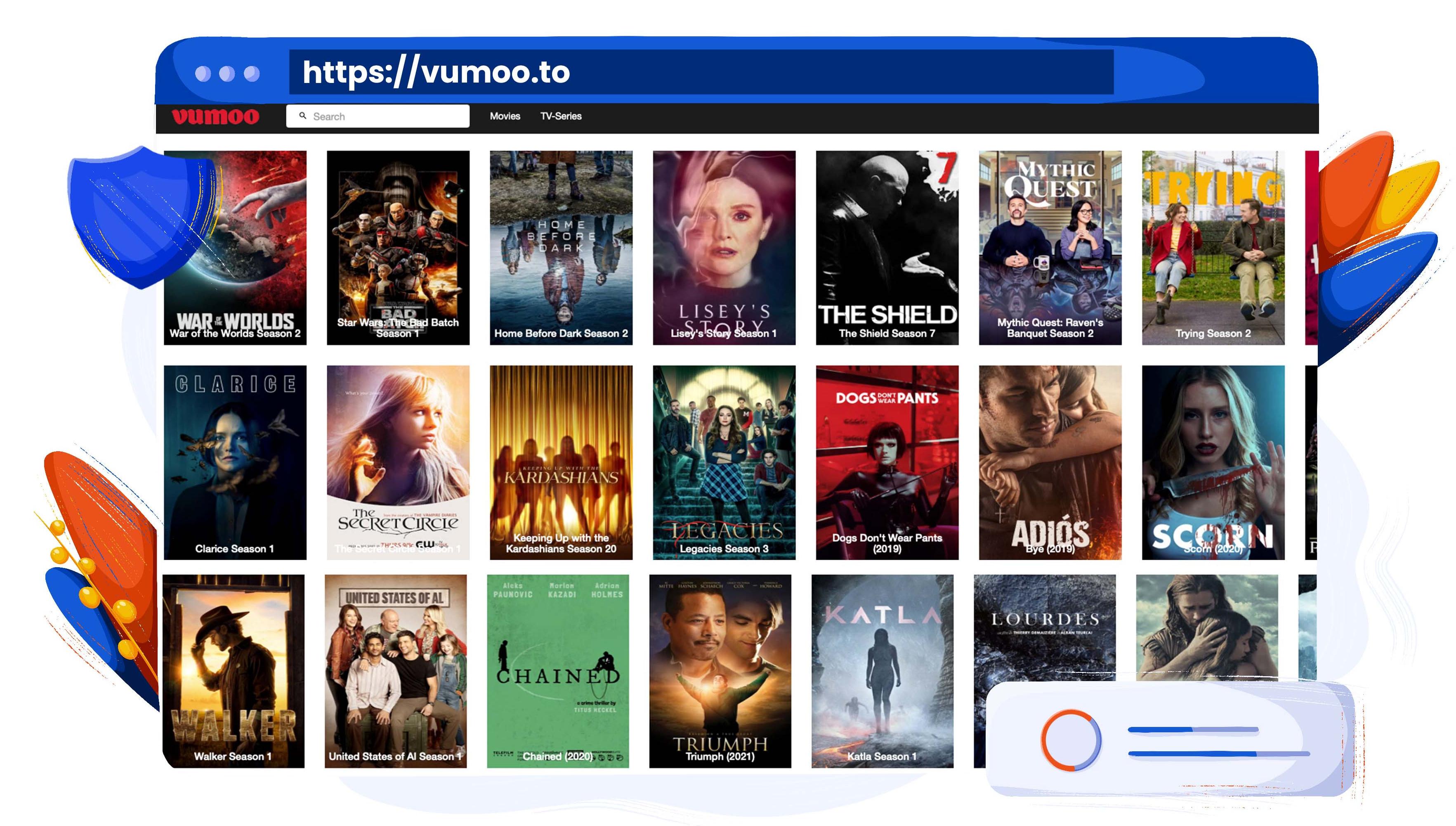 Használja a Vumoo-t filmek és tévéműsorok streamelésére