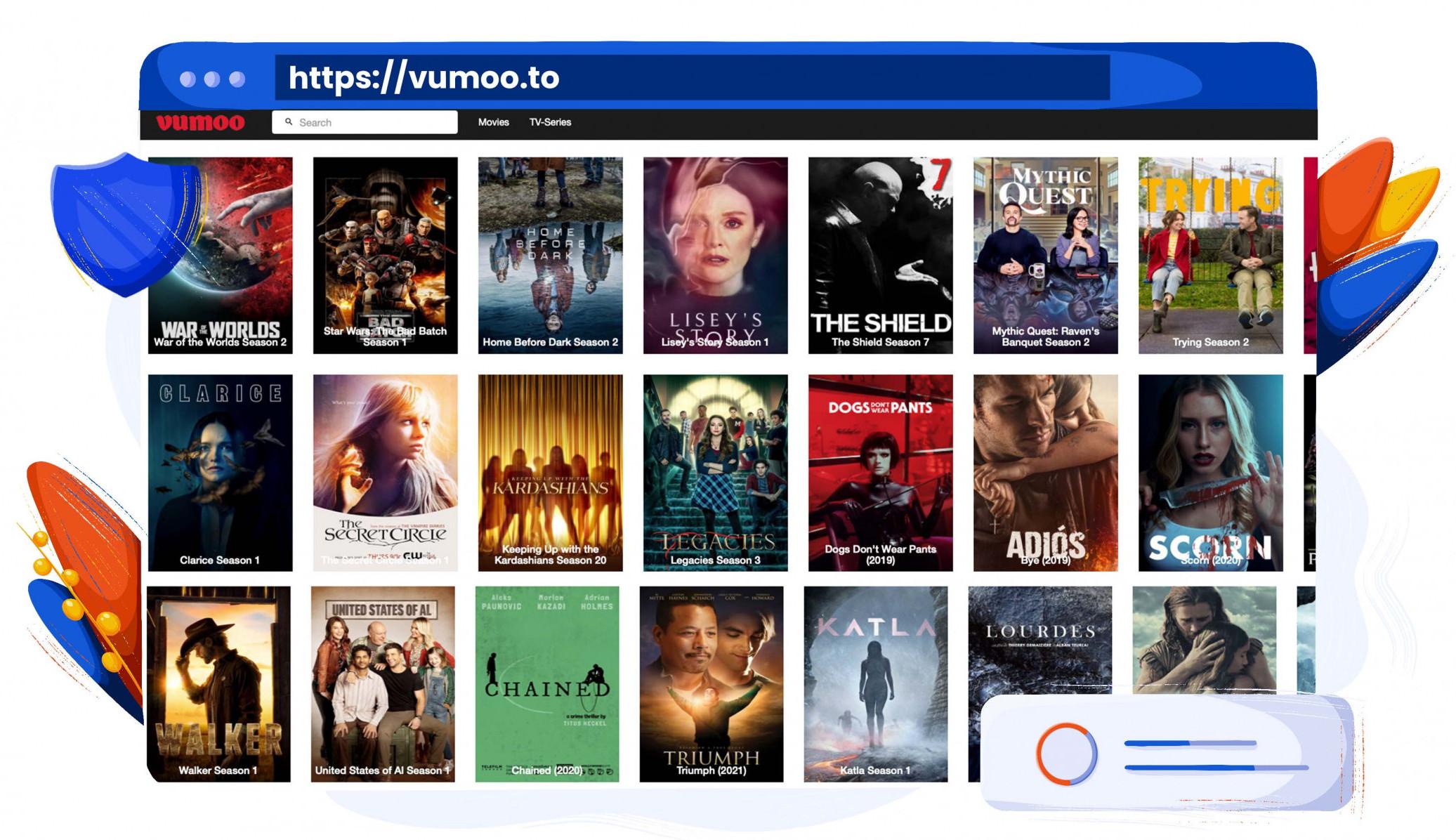Film e serie TV in streaming gratis su Vumoo