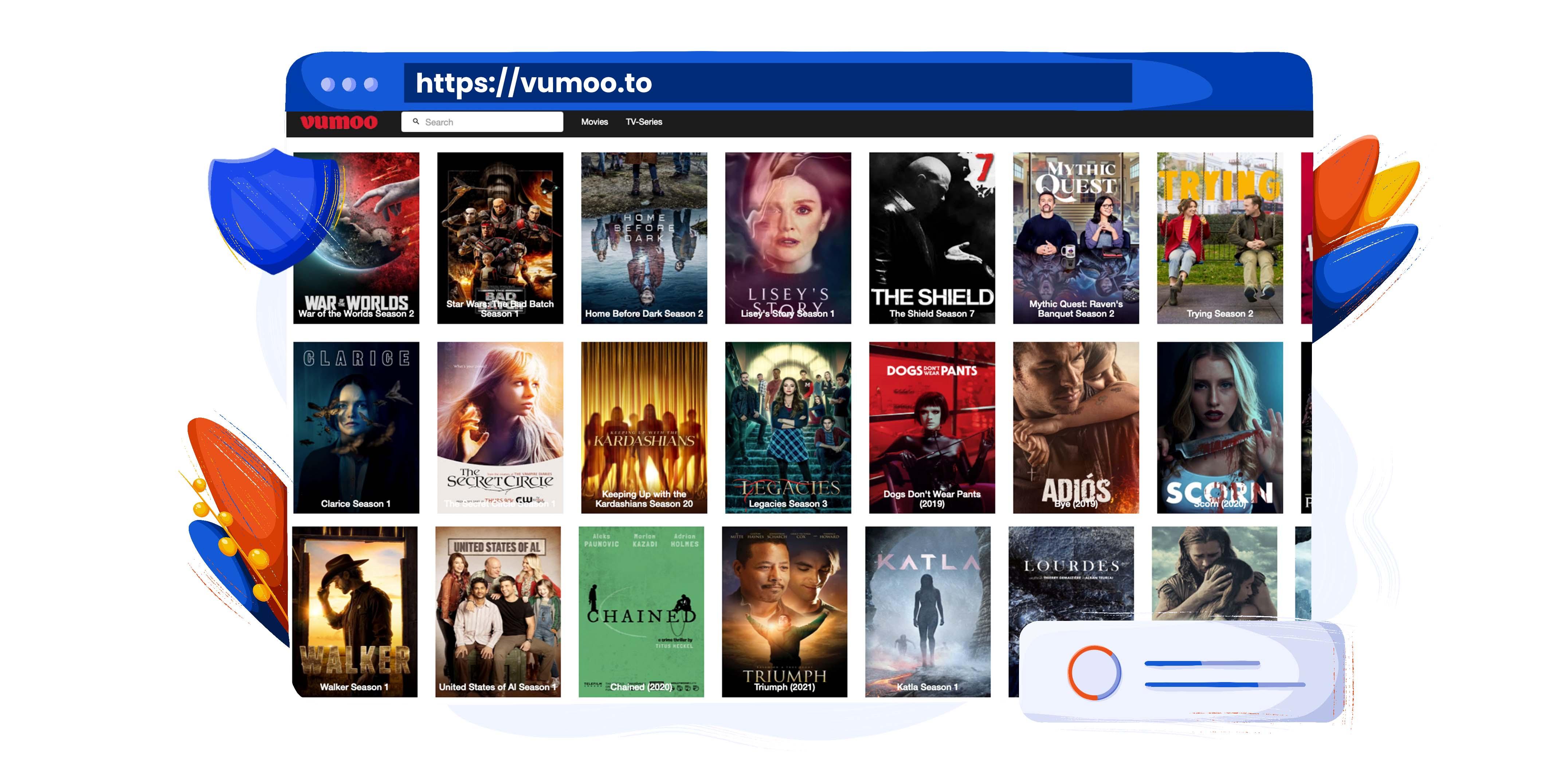 Nutzen Sie Vumoo als Putlocker-Alternative zum Streamen von Filmen und TV-Sendungen