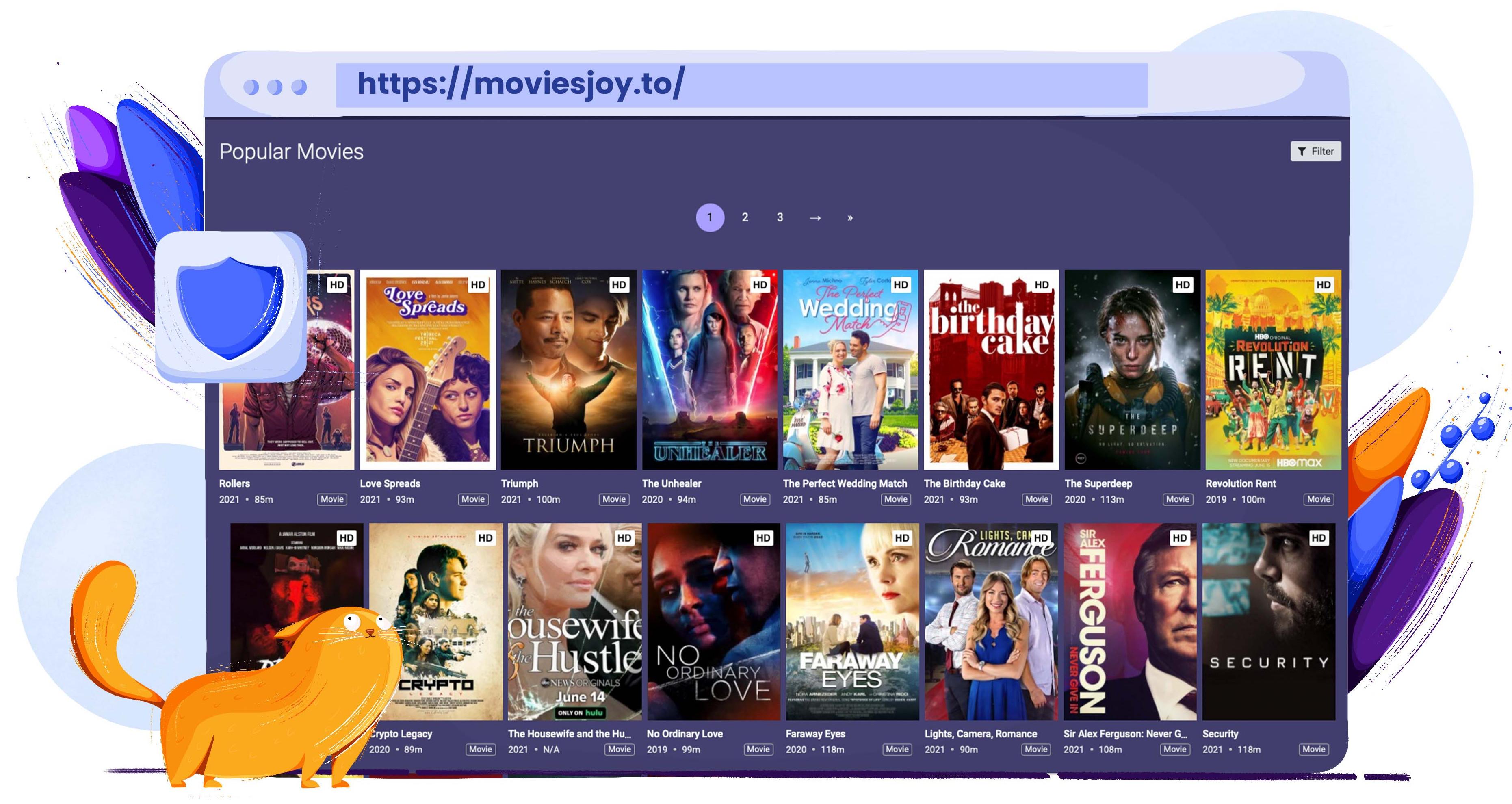 Használja a MoviesJoy-t a Putlocker alternatívájaként a filmek és tévéműsorok streamingjéhez