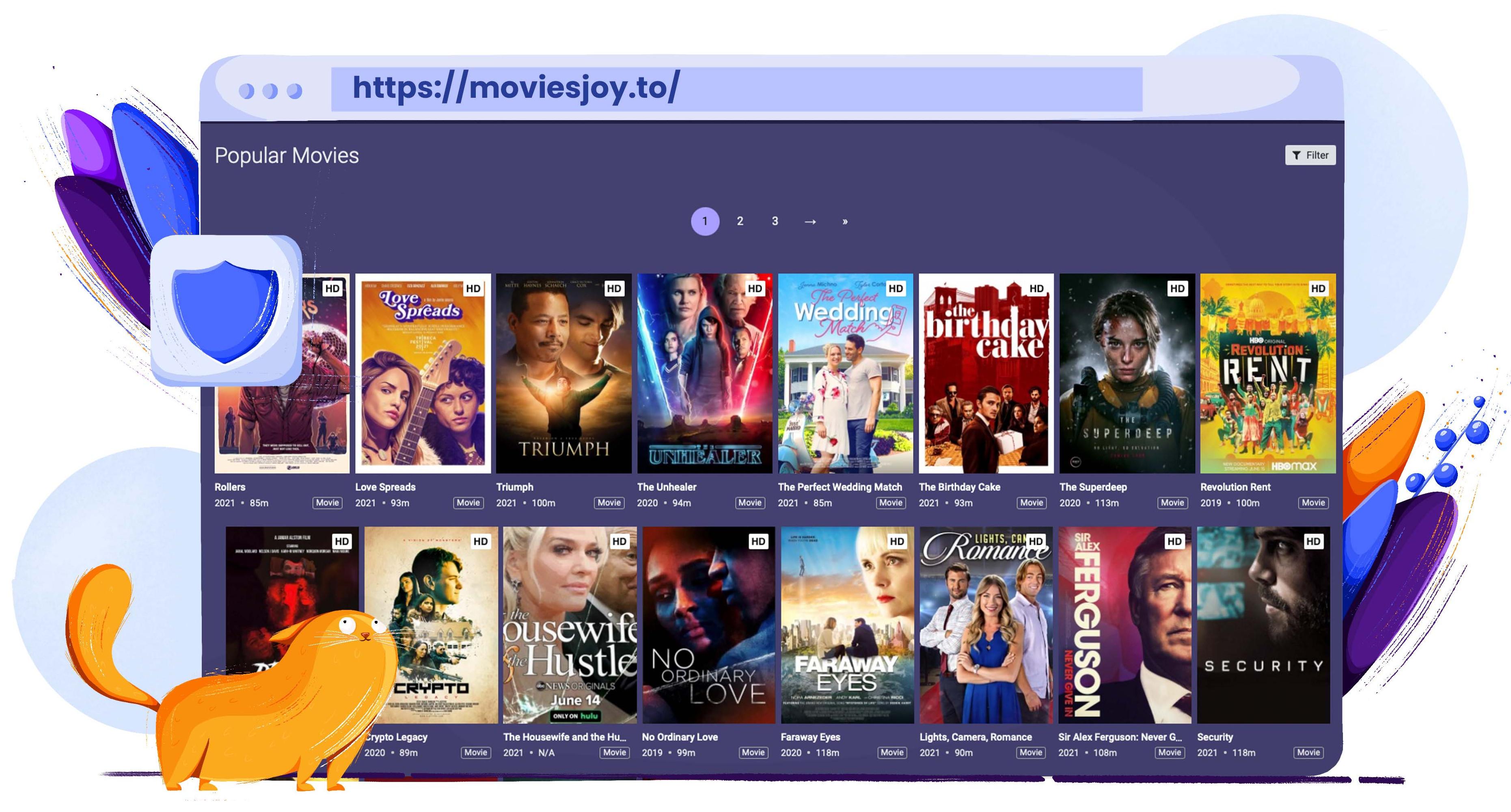Użyj MoviesJoy jako alternatywy dla Putlocker do przesyłania filmów i programów telewizyjnych