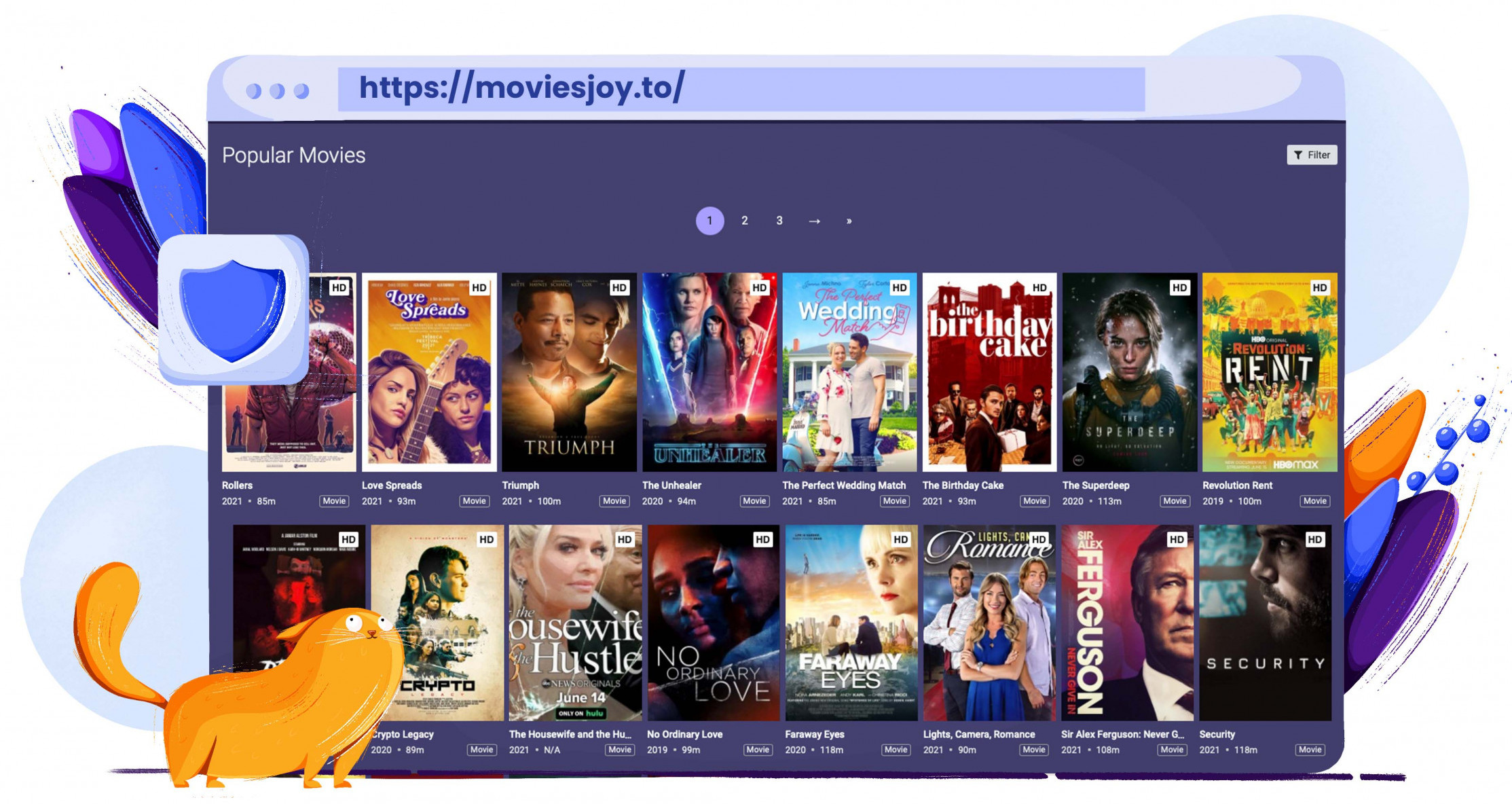 Film e serie TV in streaming gratis su MoviesJoy