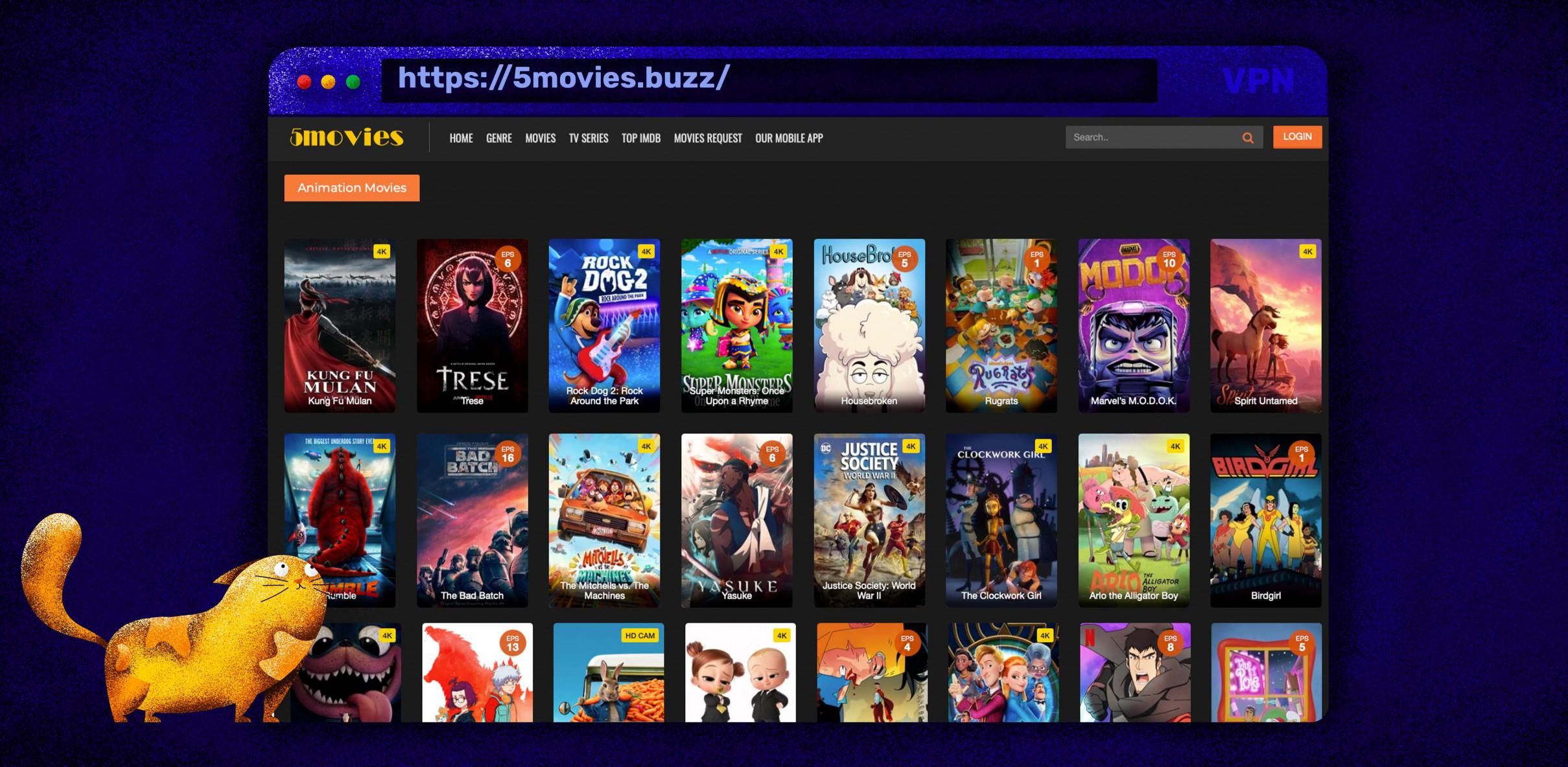 Film e serie TV in streaming gratis su 5Movies