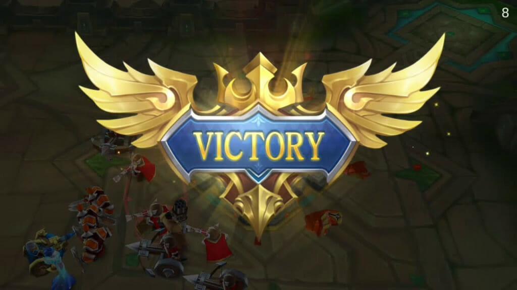 Mobile Legends Bang Bang victory
