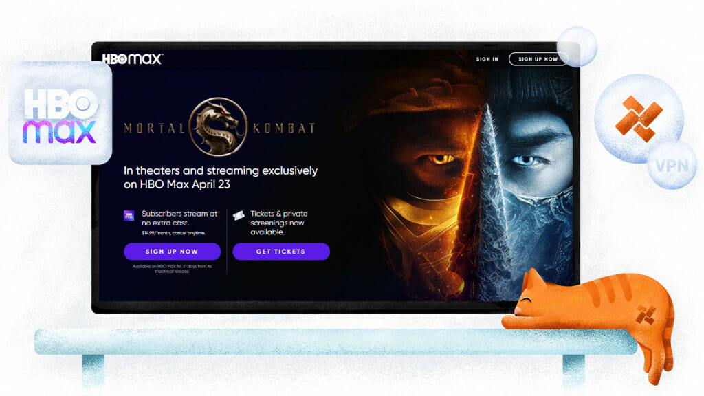 Mortal Kombat-streaming op HBO Max