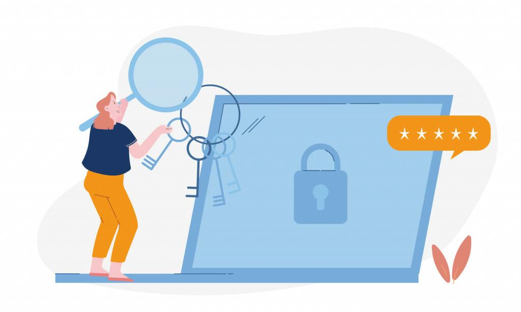 Gebruik voor elk account een ander wachtwoord