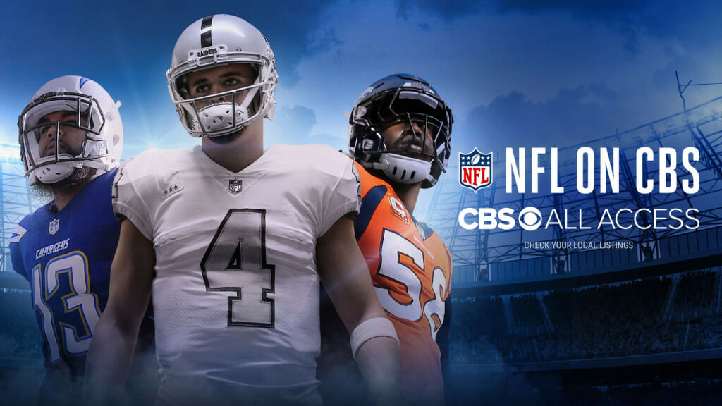 CBS All Access NFL streaming