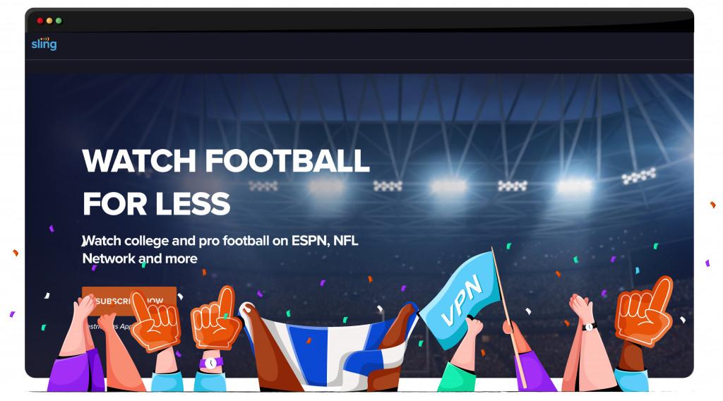 Sling TV, NFL'yi Amerika Birleşik Devletleri'nden yayınlıyor
