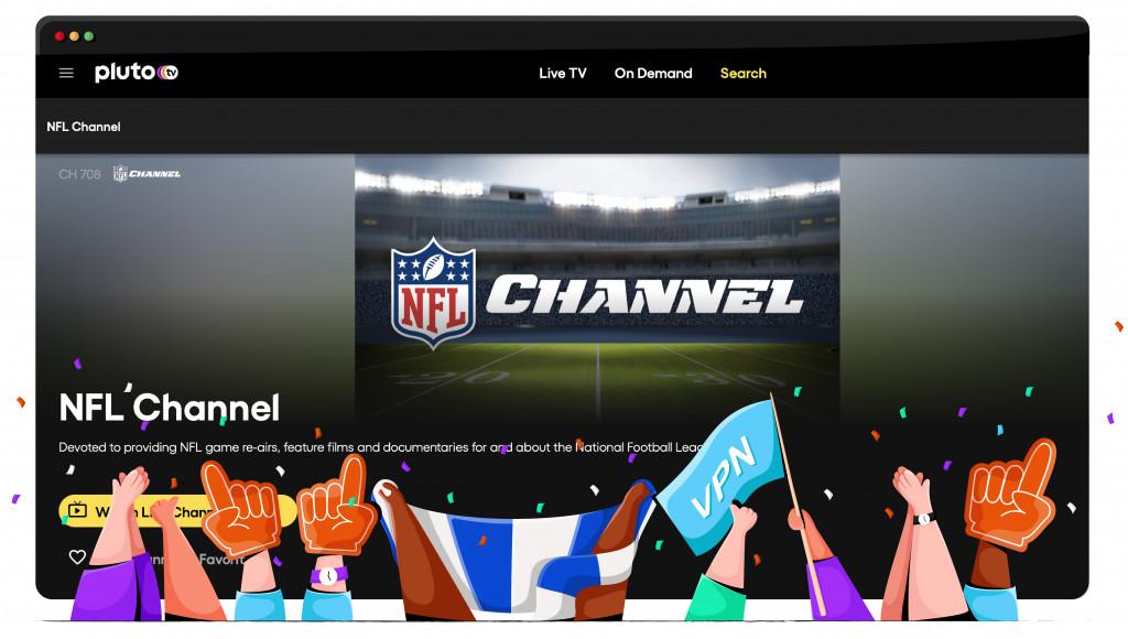 Pluto TV, NFL'yi ABD'den yayınlıyor