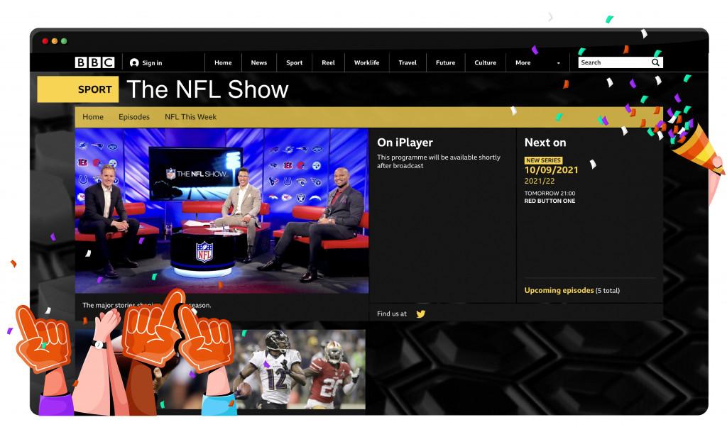 BBC Two, NFL'yi İngiltere'den yayınlıyor