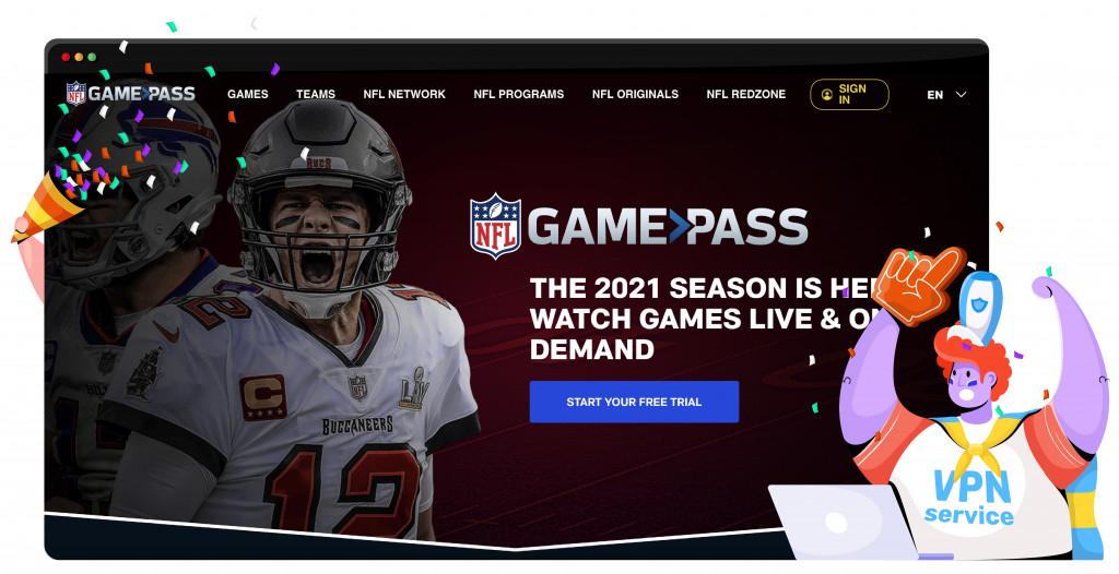NFL Game Pass ile NFL'yi yayınlayın