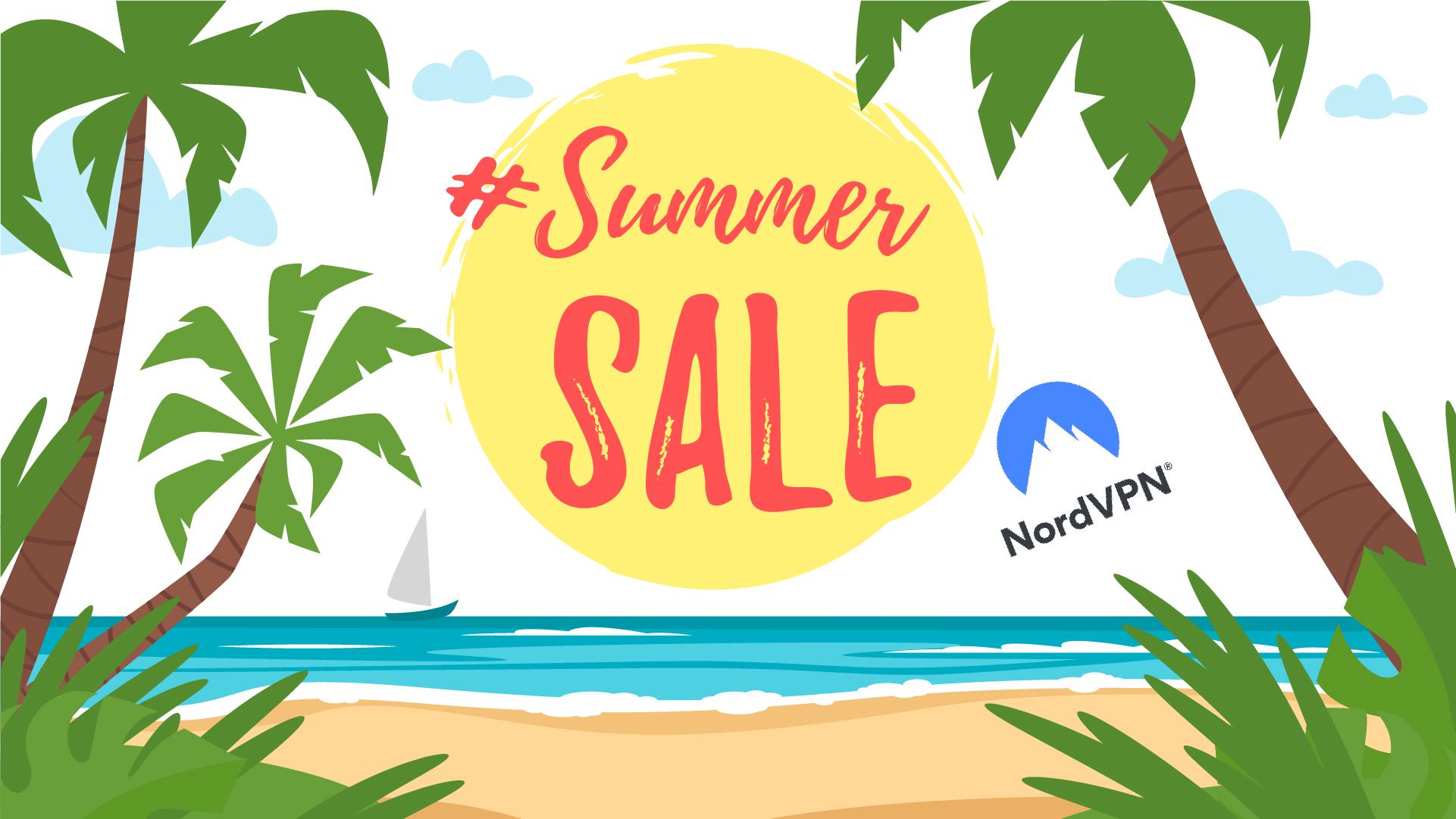 NordVPN bietet ein exklusives Sommerangebot mit 72% Rabatt