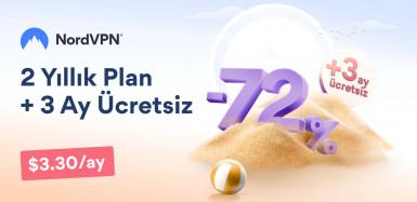 NordVPN, 2 yıllık aboneliklerinde %72 indirim sunuyor