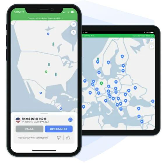 NordVPN für iPhone und iPada