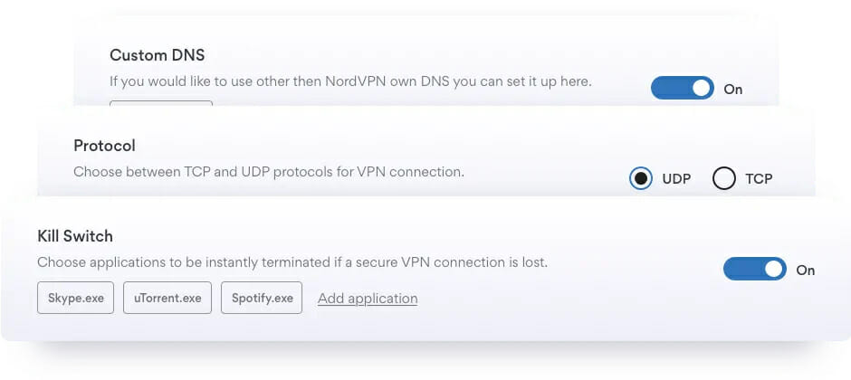 NordVPN advanced security features