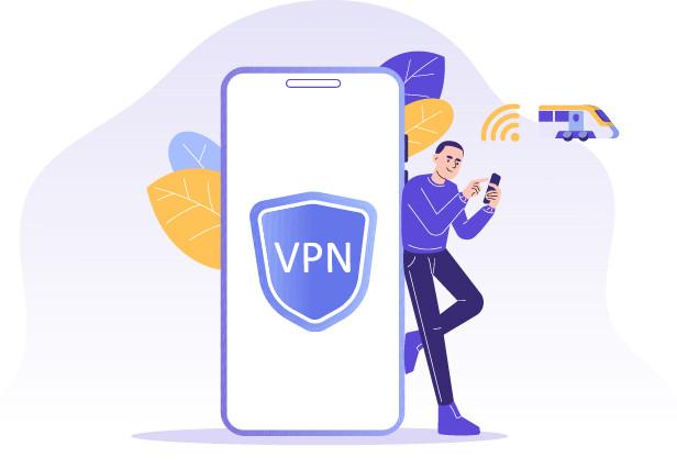 Met een VPN ben je veilig op de trein-wifi