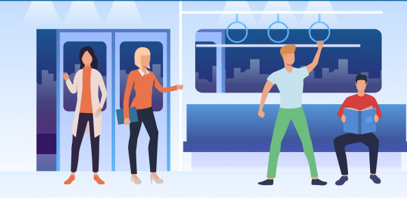 Wifi in de trein: best gevaarlijk