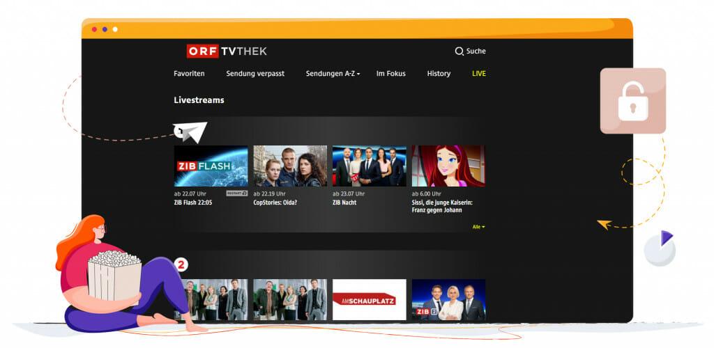 ORF 1 österreichisches Streaming