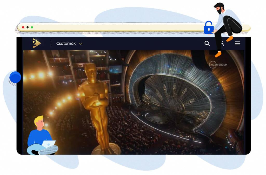 2021 Oscar-sugárzás a Moziverzumon