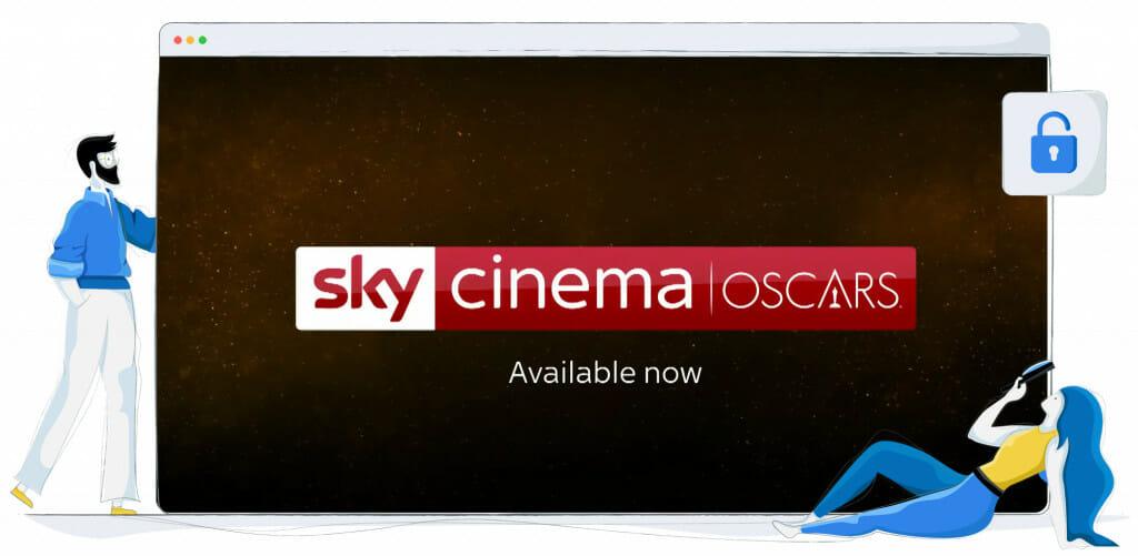 Gli Oscar in streaming su Sky UK