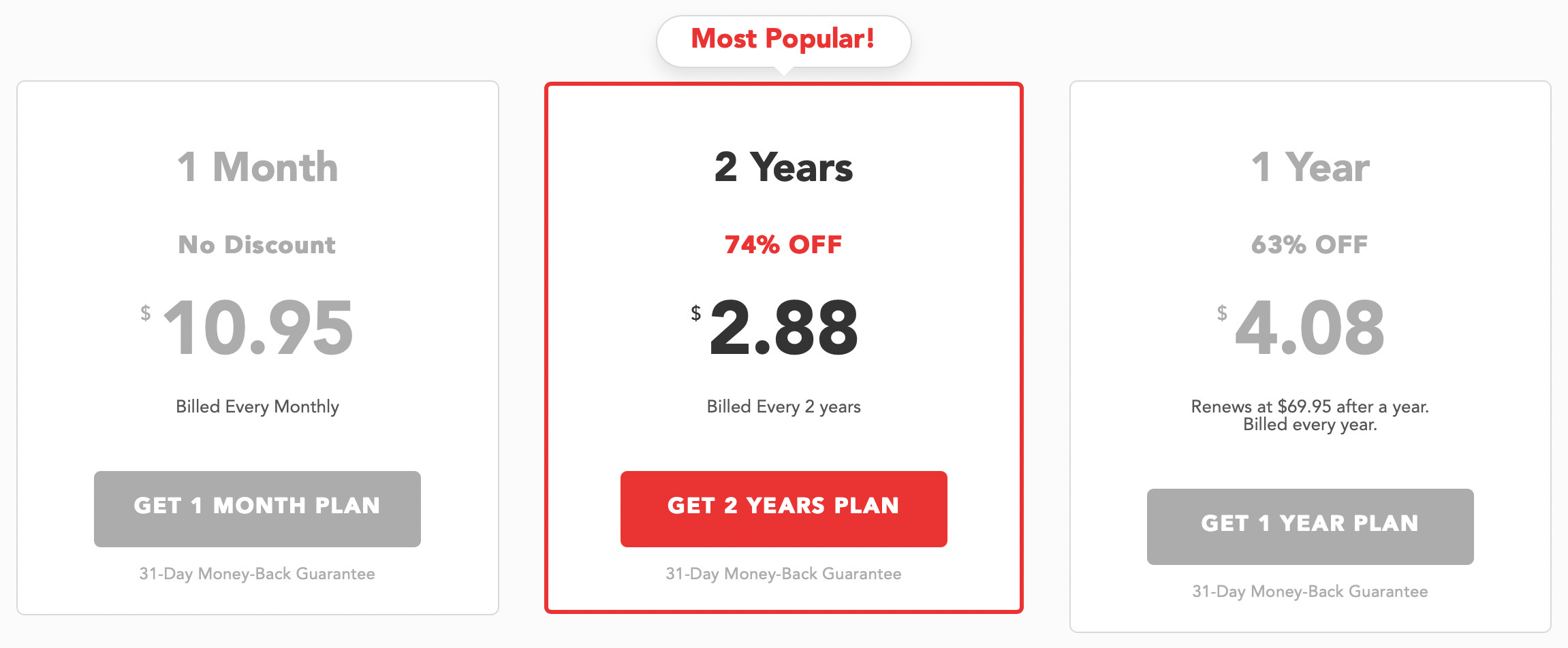 PureVPN subscription plans and prices