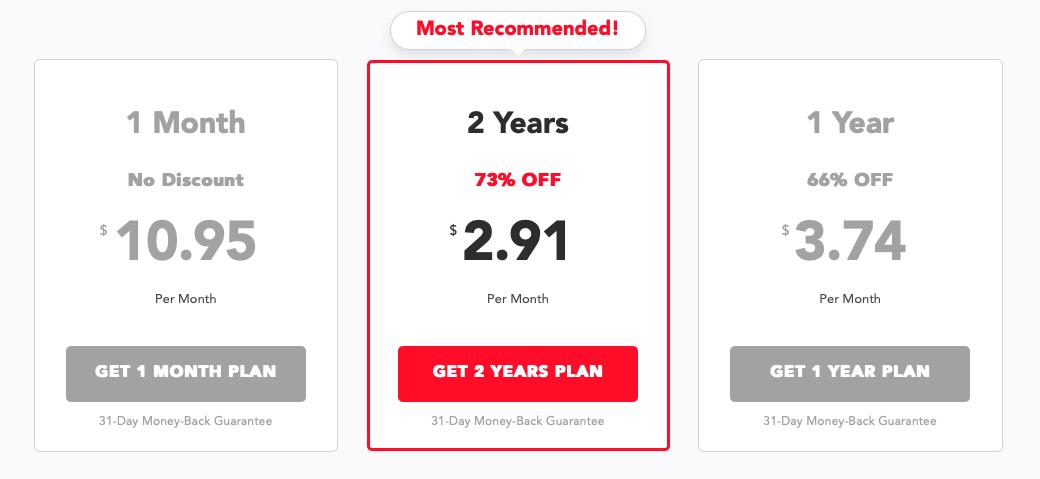 PureVPN tervek és árak