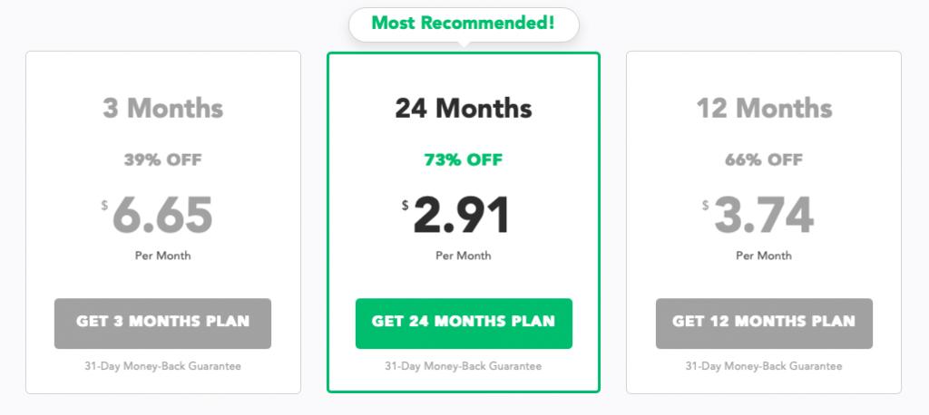PureVPN Pläne und Preise