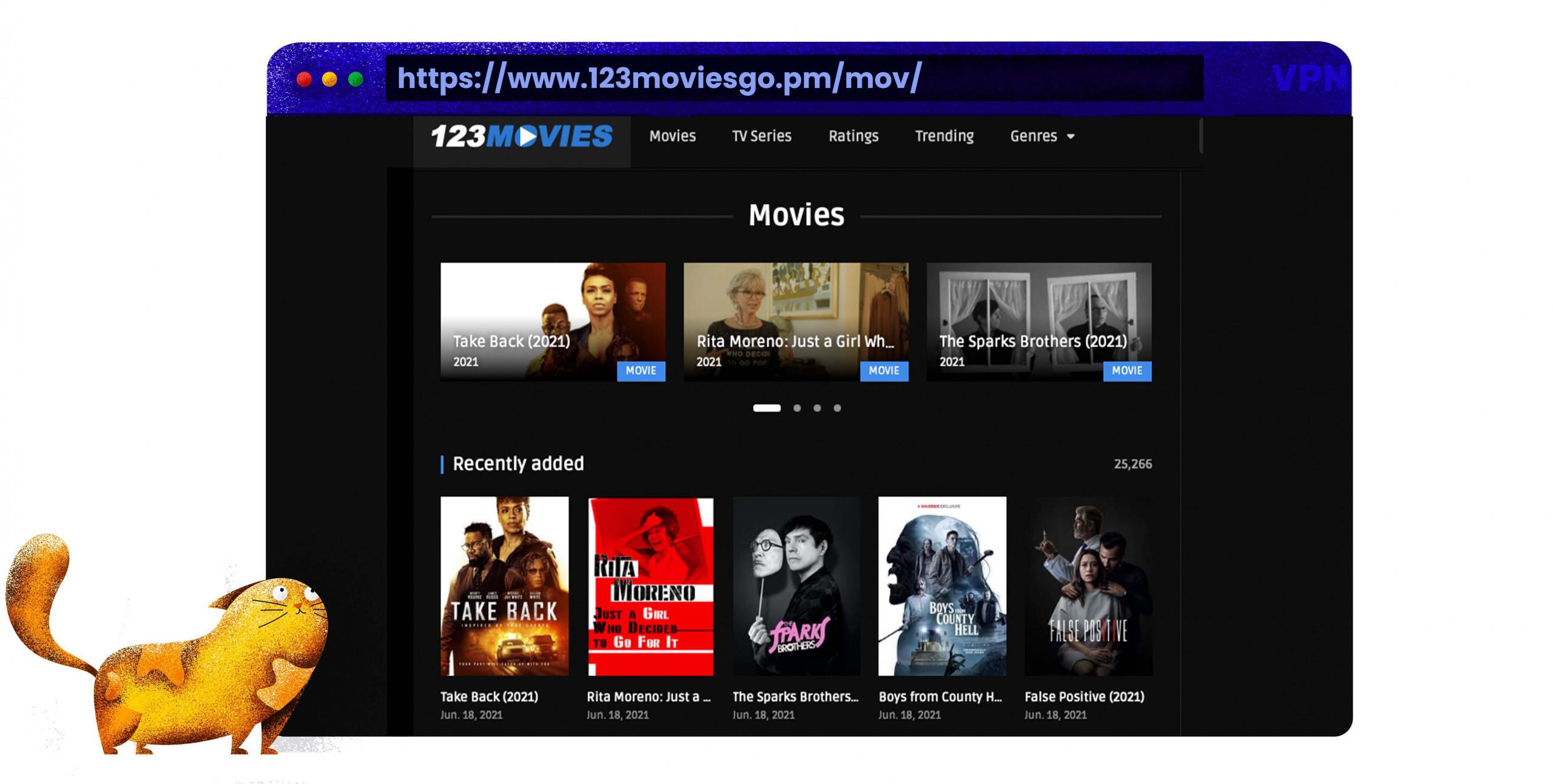 Nutzen Sie 123movies als Putlocker-Alternative zum Streamen von Filmen und TV-Serien