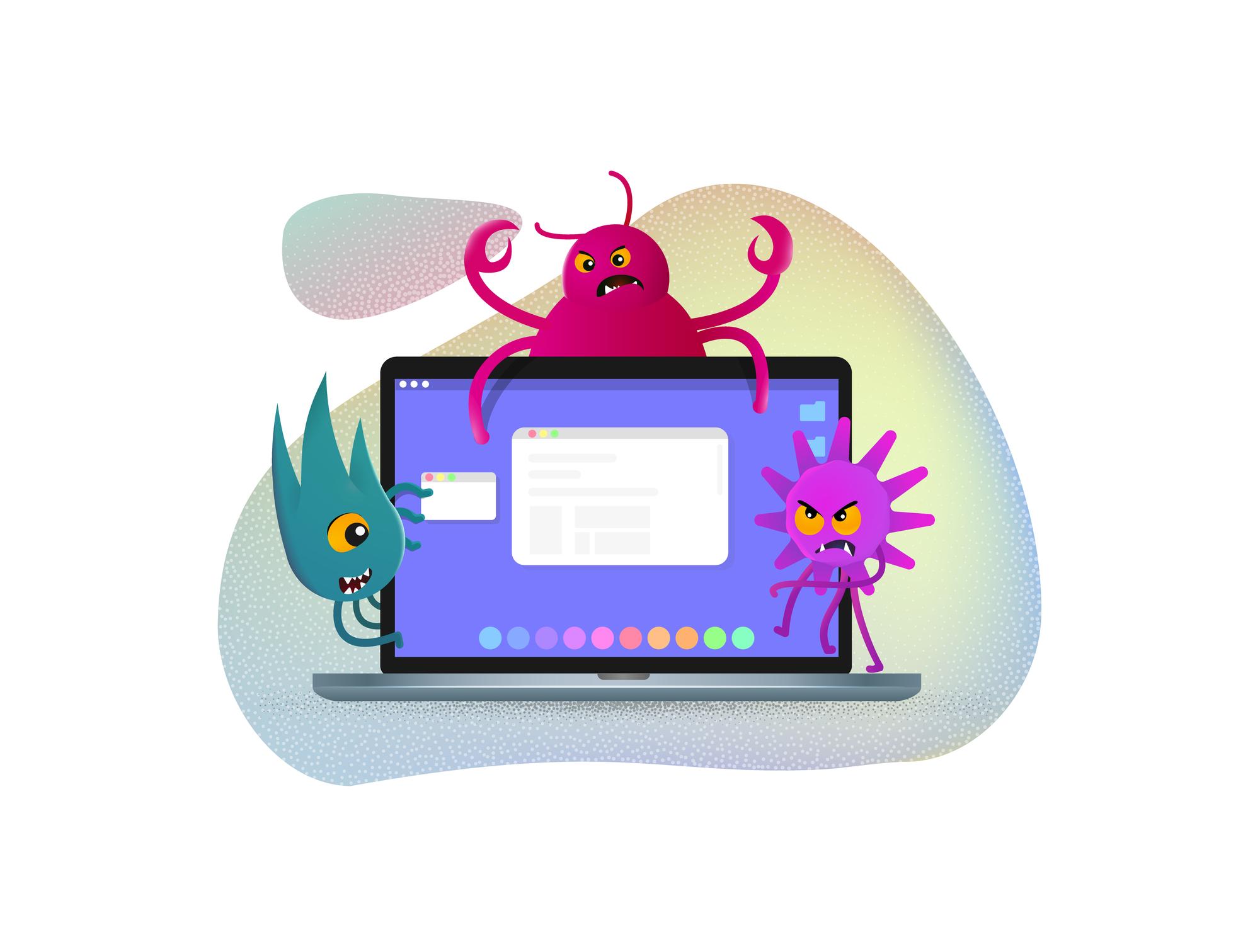 Különböző típusú malware-ek