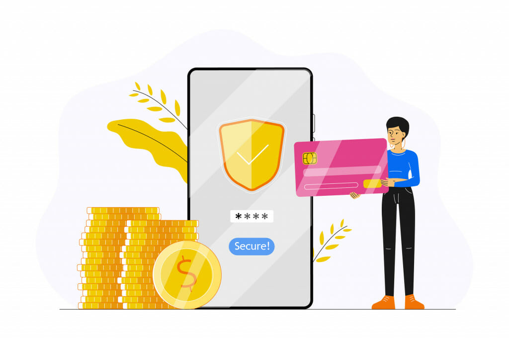 Secure banking with a VPN