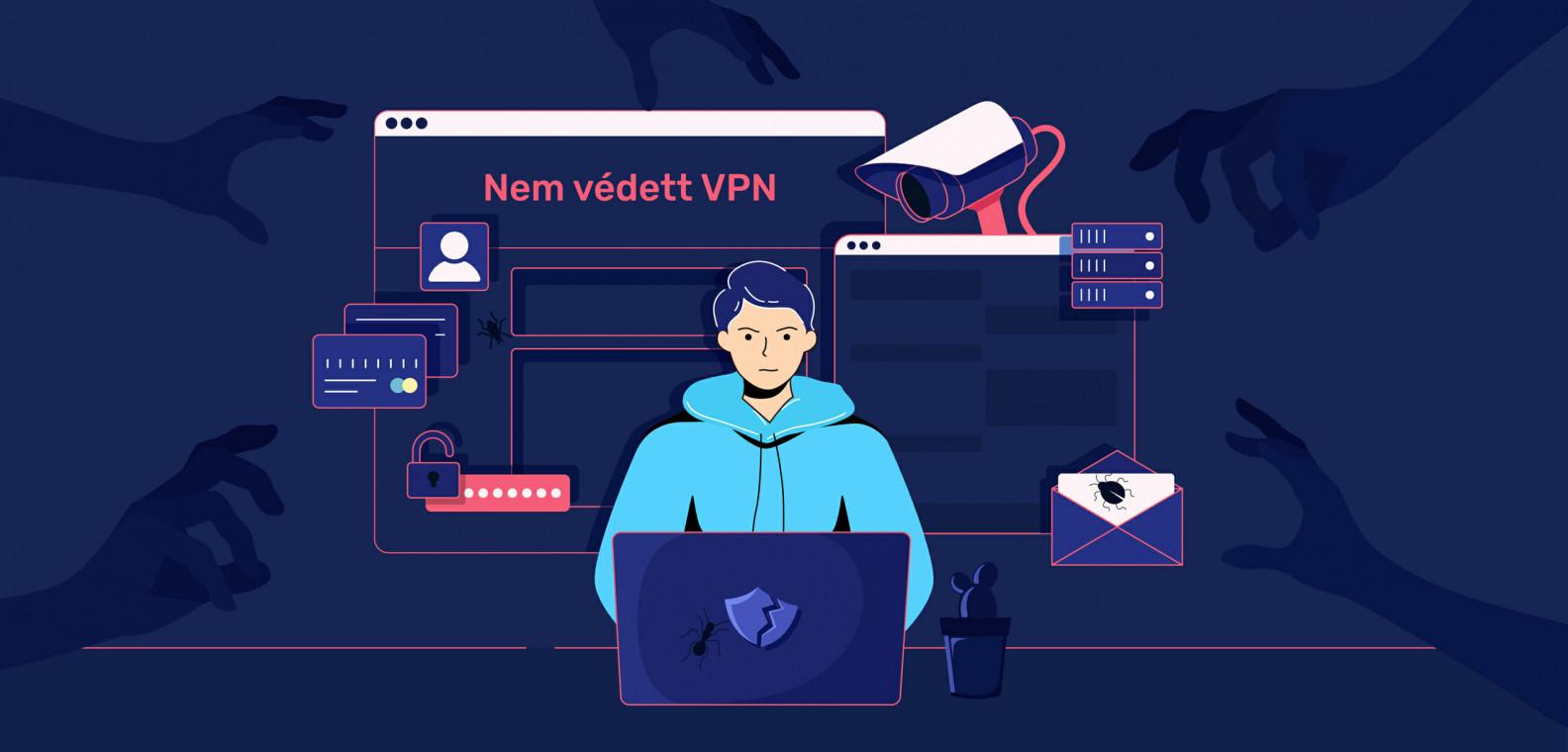 Borzalmas VPN-t teszünk ki