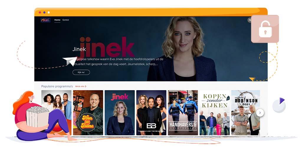 Kijk RTL XL in het buitenland met een VPN