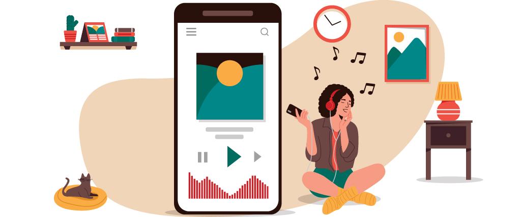 Spotify music streaming platform