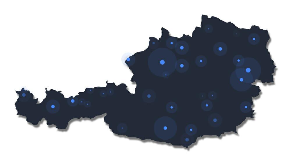 NordVPN verfügt über Server in Österreich
