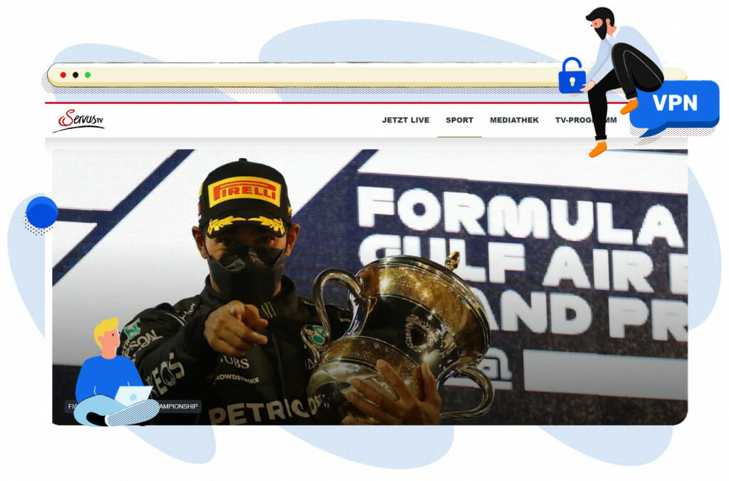 Formel-1-Streaming im österreichischen Servus TV
