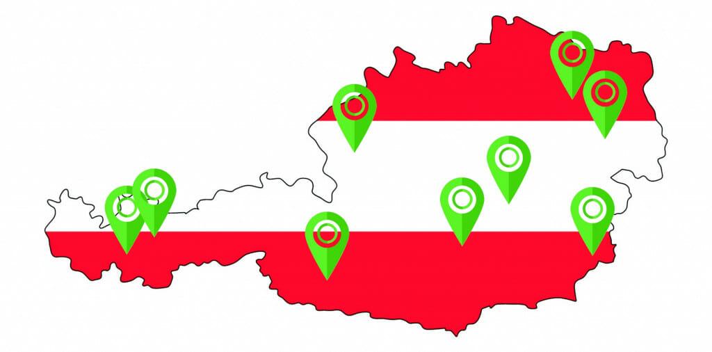 VPN met servers in Oostenrijk is noodzakelijk