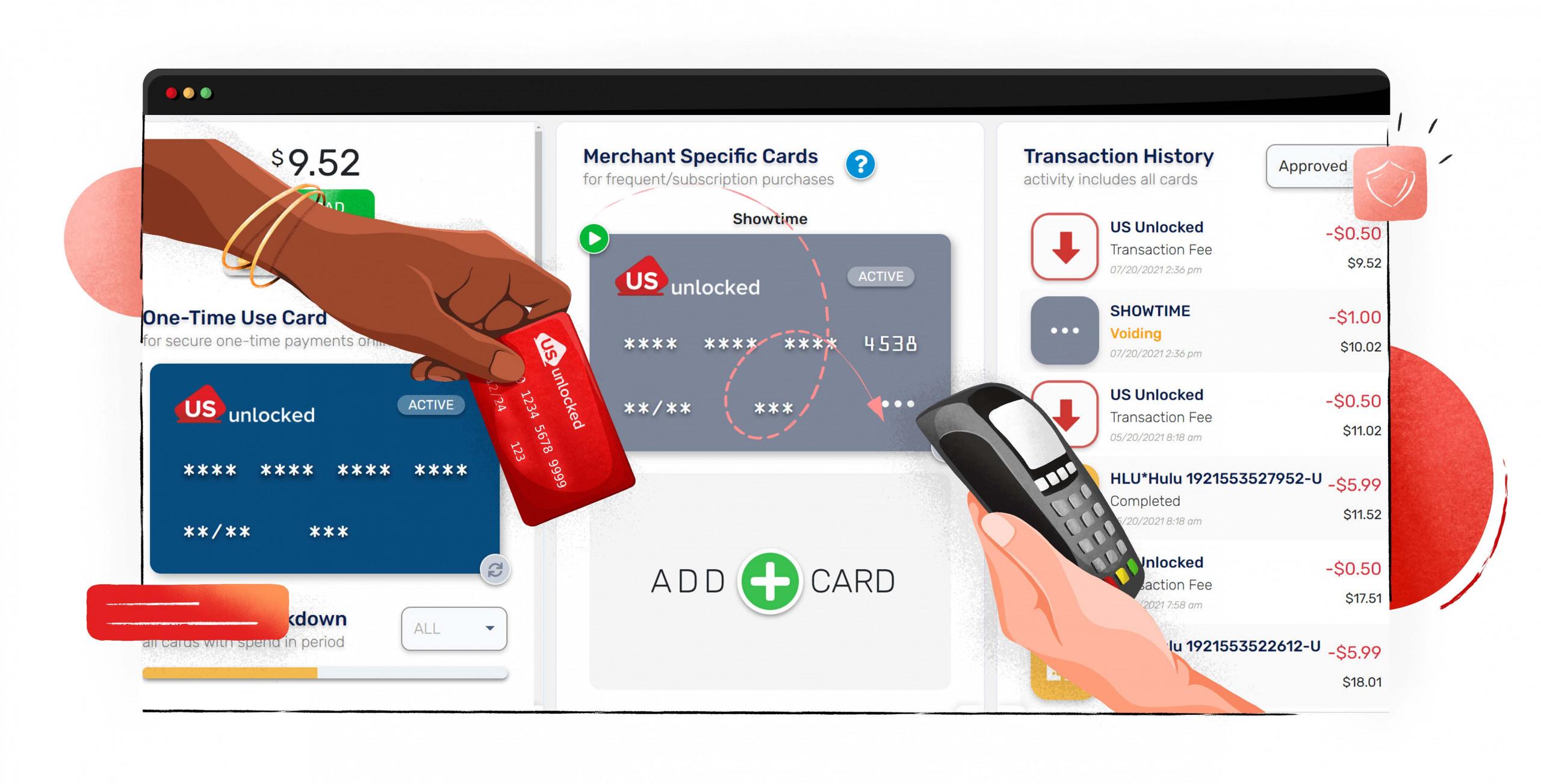 Abonneer je op Showtime met een US Unlocked bankkaart