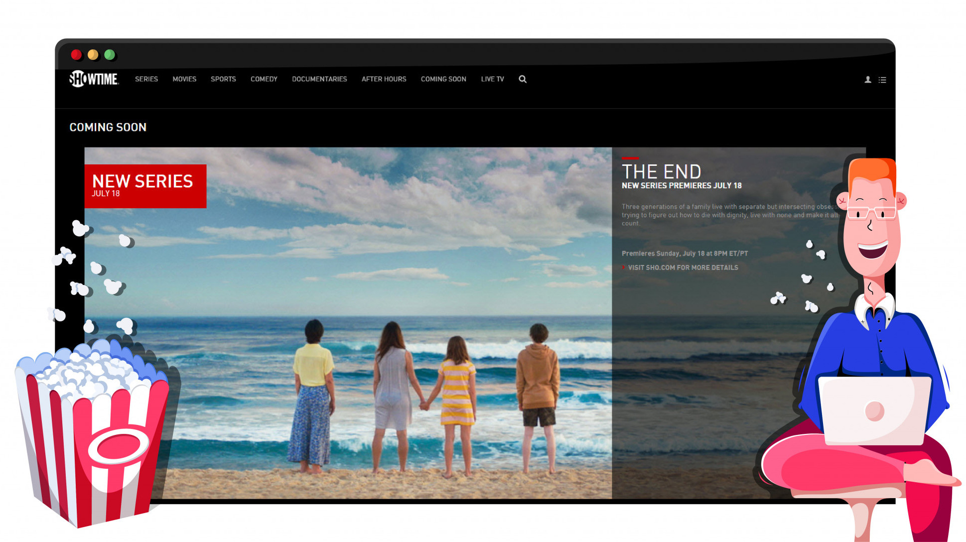 Kijk Showtime vanuit Nederland met een VPN