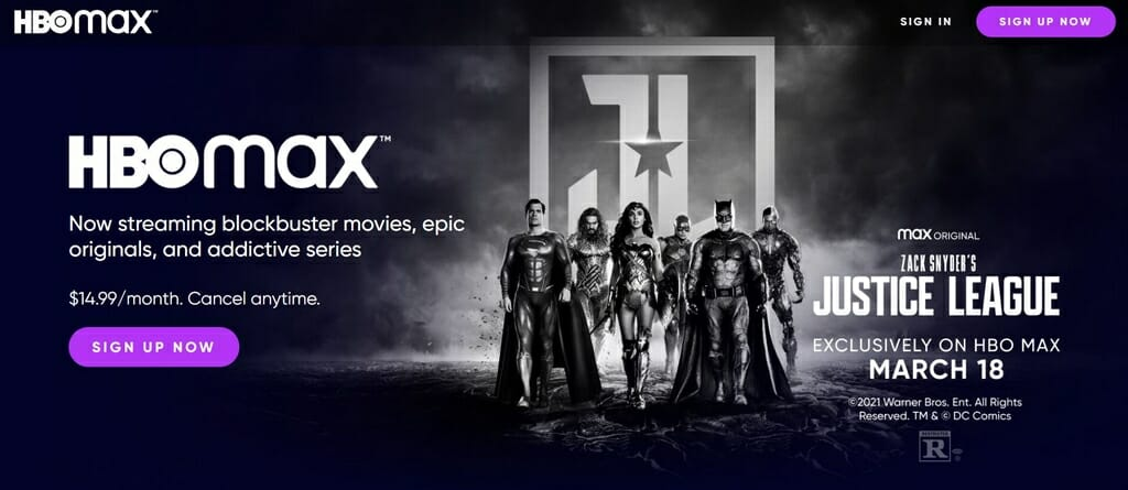 Justice League: Snyder Cut ay HBO Max