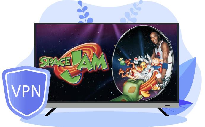 Transmite Space Jam 2 en HBO Max con una VPN