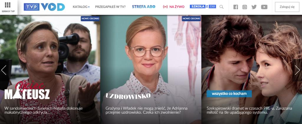 oglądać polską telewizję
