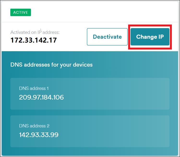 Surfshark Smart DNS feature