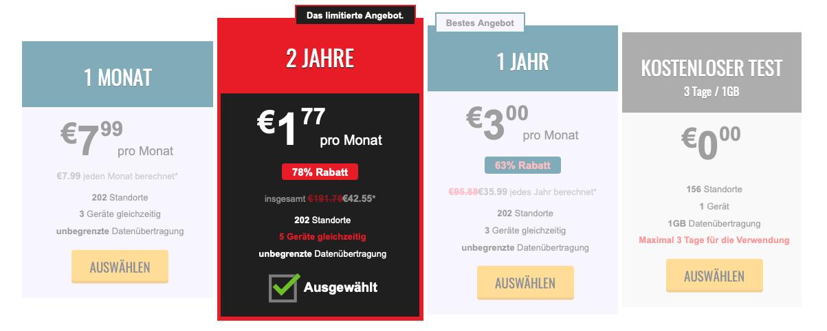 Trust.Zone-Abonnements