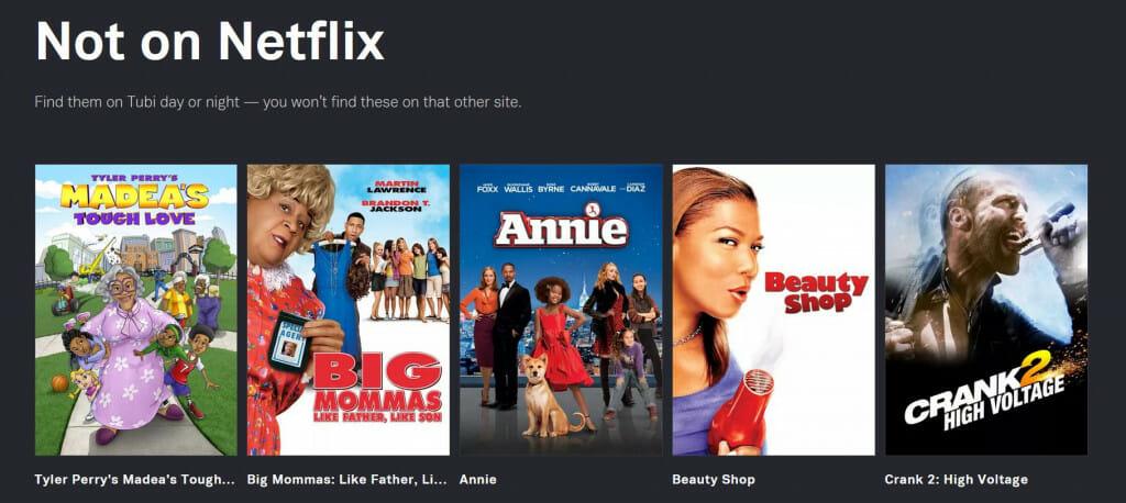 Nie na Netflixie Film