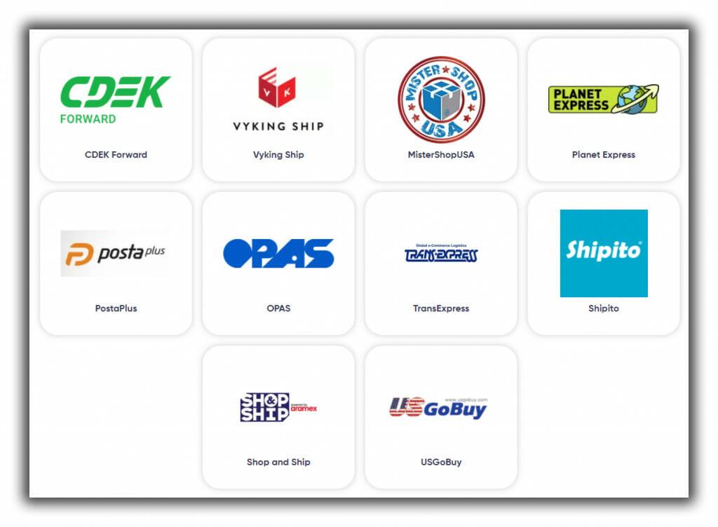 US Unlocked shipping merchants