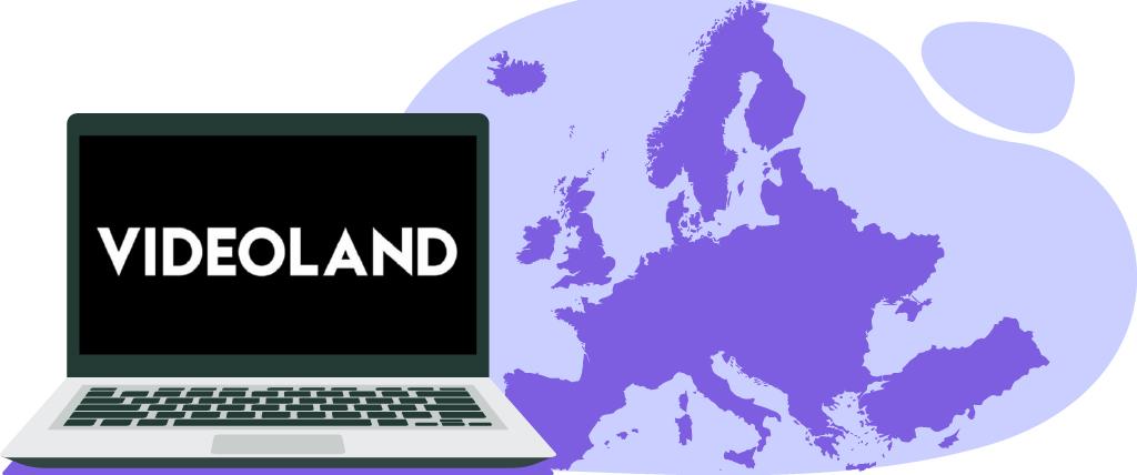 Er gelden georestricties voor Videoland buiten Europa