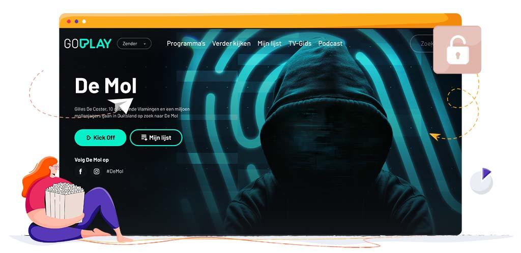 De Mol streamt op Play4